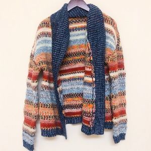 Anthropologie knitted and knotted cardigan
